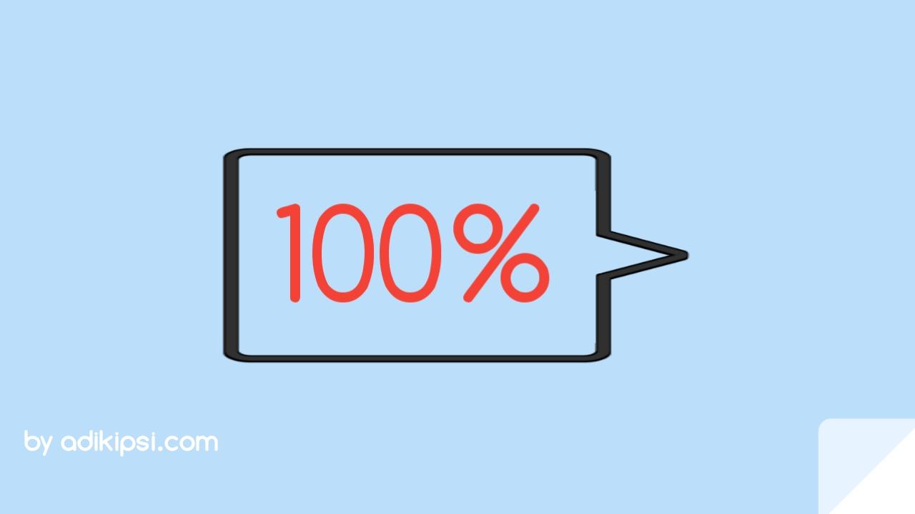 Cara Membuat Efek Scrollbar Persentasi di Blog