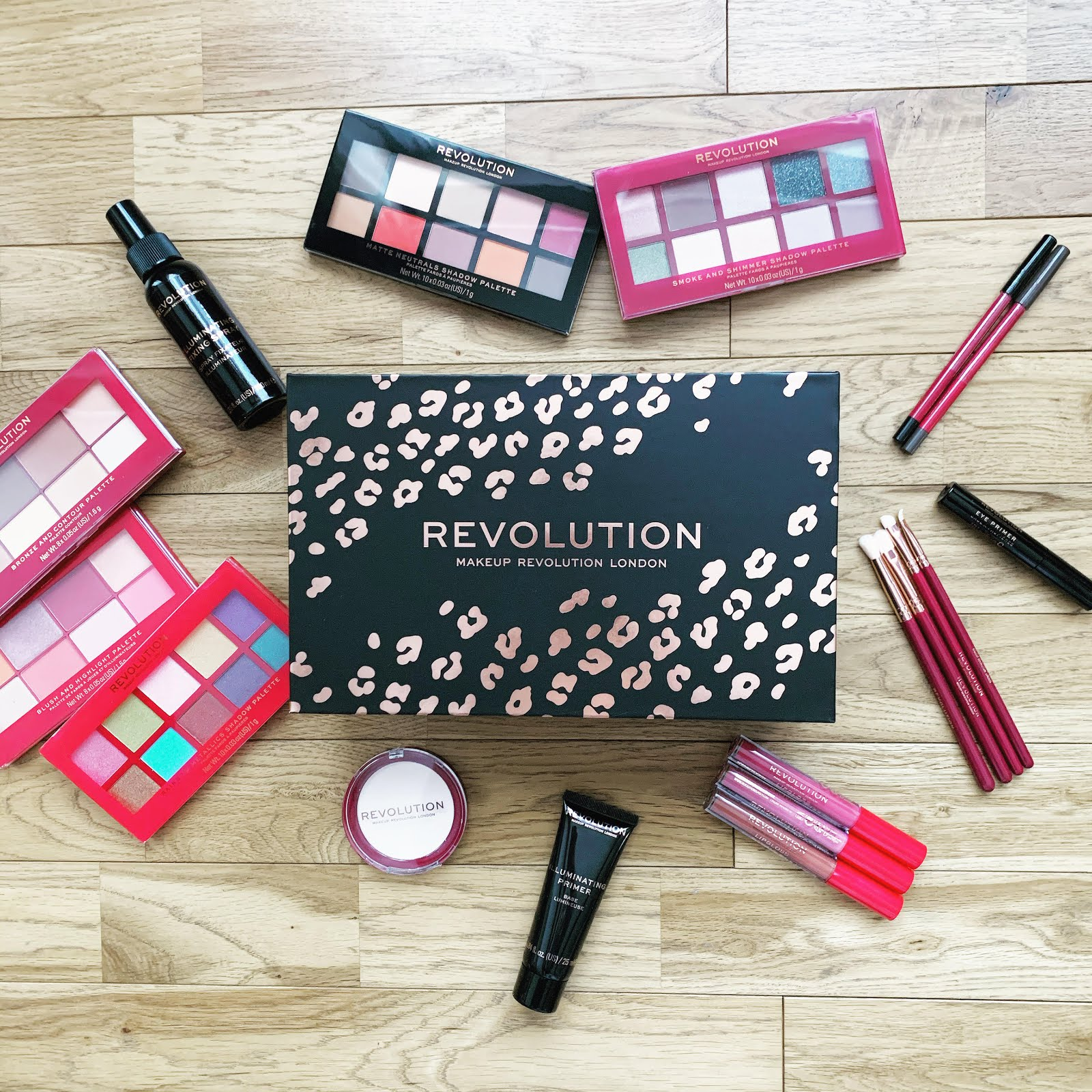 revolution wild about rev vegan set review, unboxing