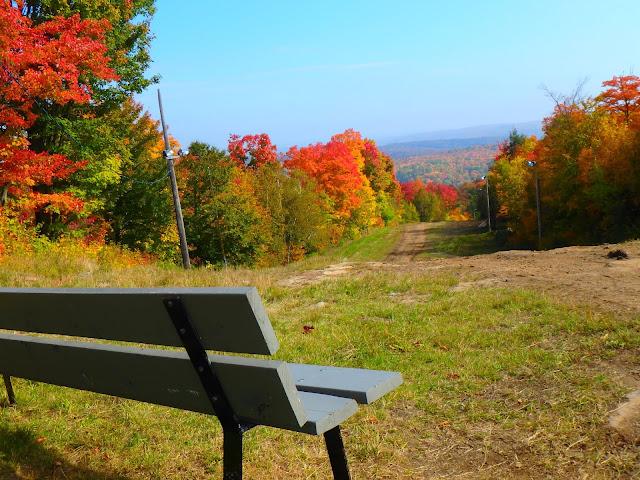 Vallée du Parc à Shawinigan festival des couleurs