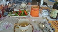 麻生区 新百合ケ丘に出張シェフ。海外転勤のお祝い・フェアウェルパーティー。ご自宅でシェフの料理をご提供:さつま芋のポタージュ