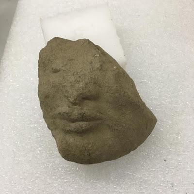 Αρχαϊκό θραύσμα λίθινης κεφαλής βρέθηκε στην Ποσειδωνία
