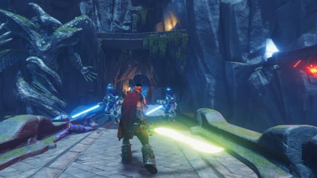 Warlander is a dynamic third-person role-playing action game inspired by the Star Wars Jedi Knight Jedi Academy and Metal Gear Rising Revengeance.