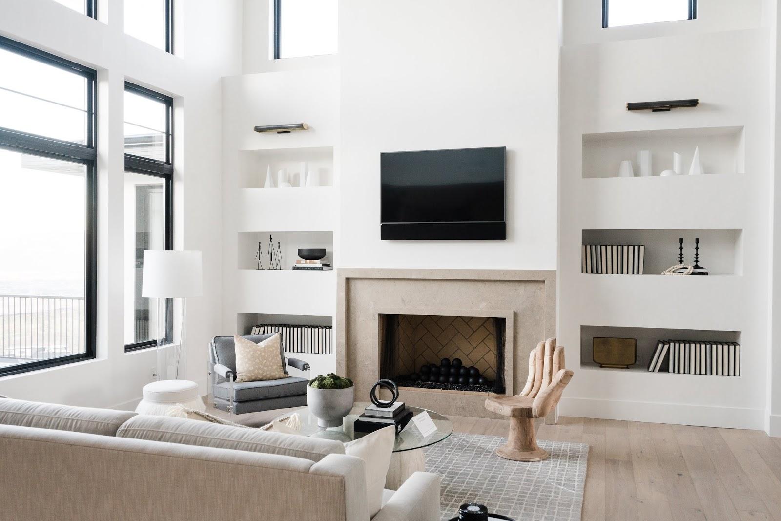 Family Room, Modern Family Room
