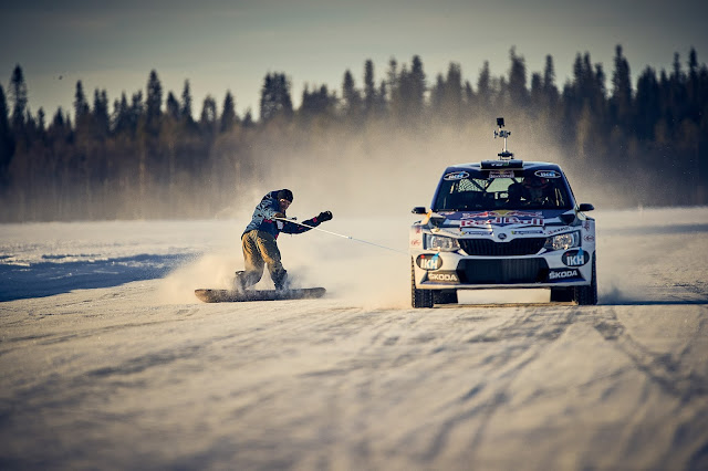 Kalle Rovanpera Driving on Ice and Snow