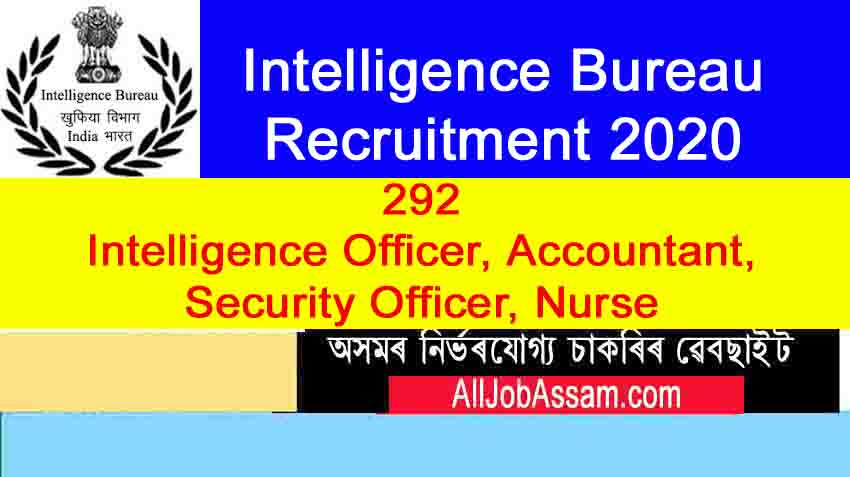 Intelligence Bureau Recruitment 2020