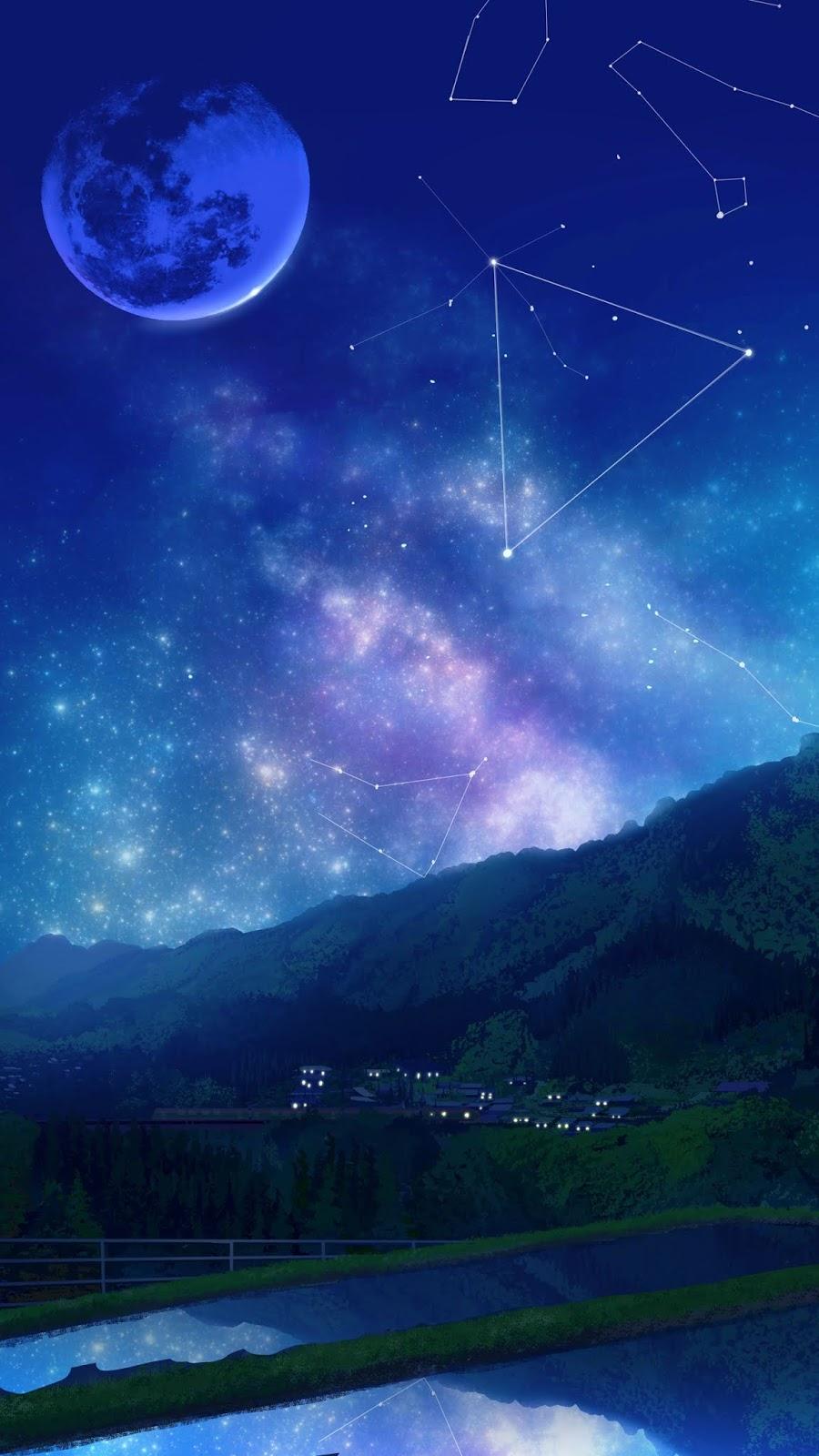 Đêm trăng sắc màu