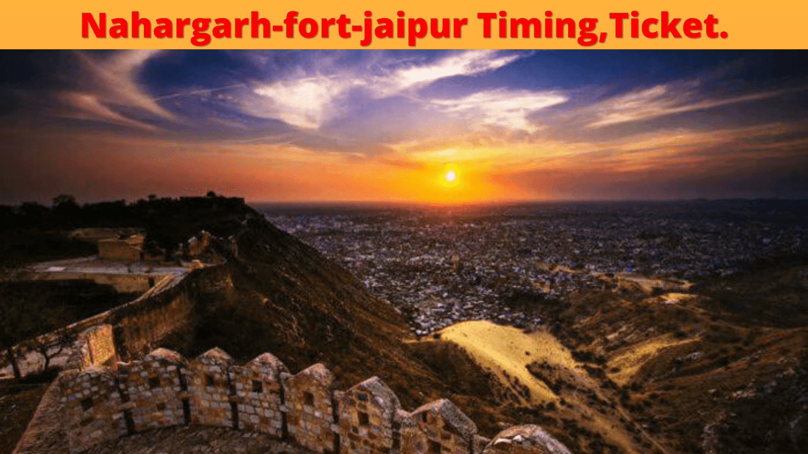 front image pf nahargarh-fort