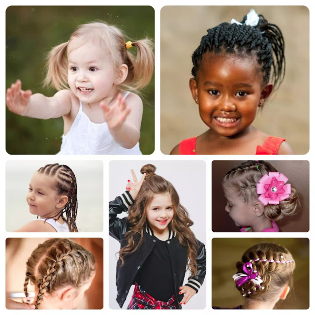 Choosing the right Hairstyle for Cute Little Girl