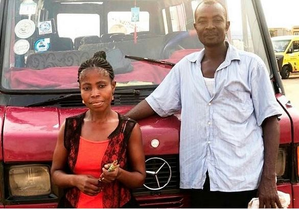 Meet Husband And Wife Who Have Been Working As Driver And Conductor For The Past 5 Years (Photos)