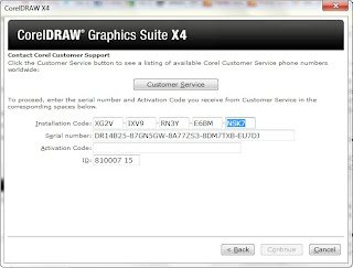 Corel draw x4 serial number and