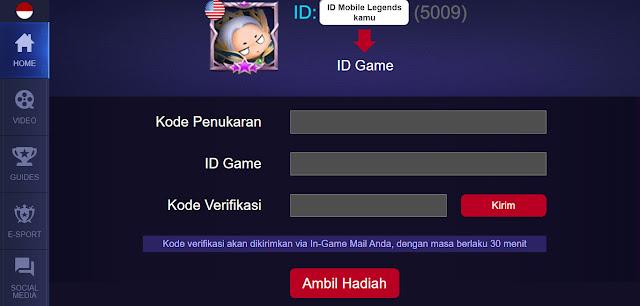 Cara Tukar Kode Redeem Mobile Legends