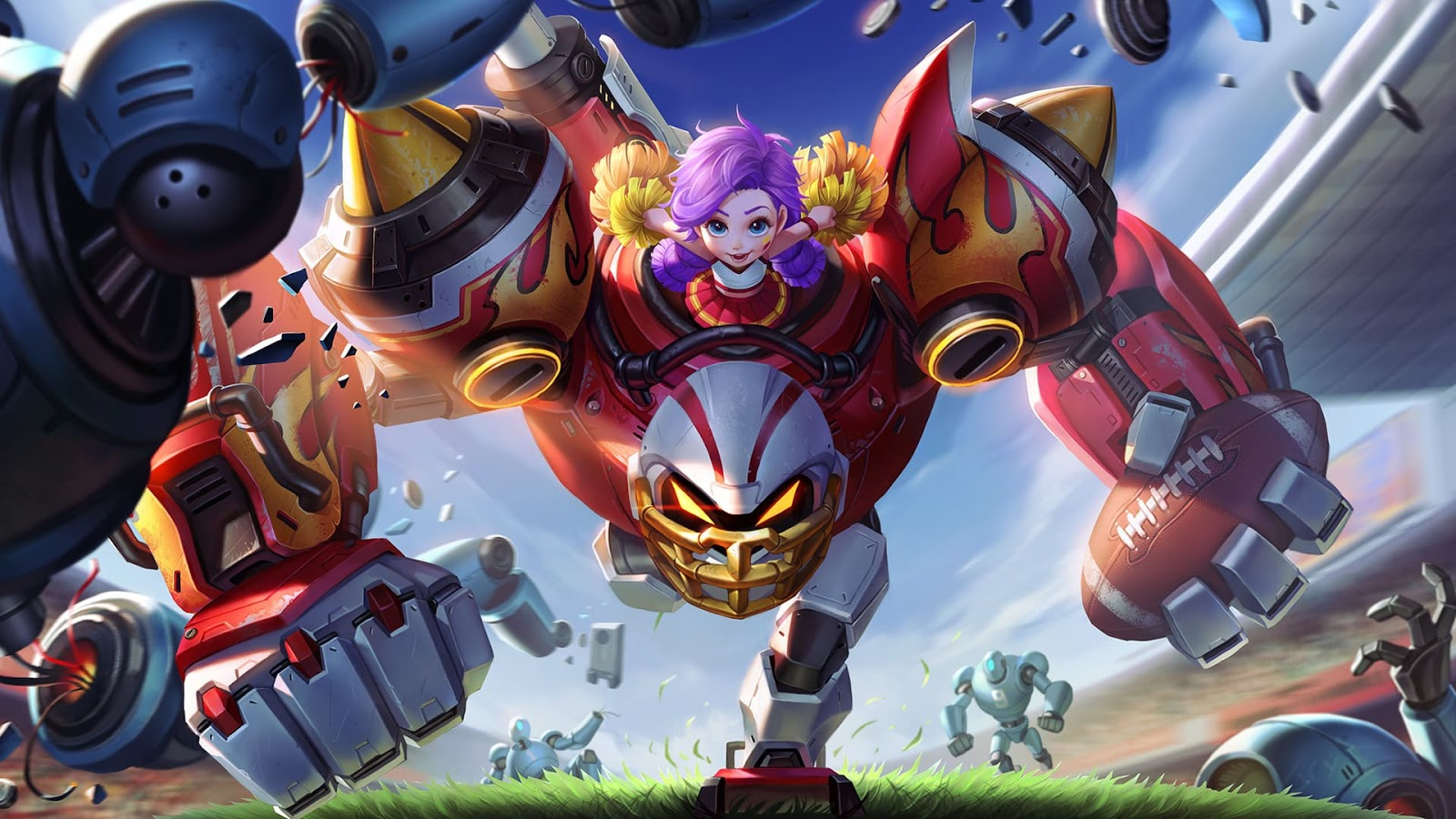 Wallpaper Jawhead Foo Quarterback Skin Mobile Legends HD for PC