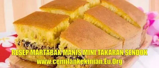 Resep Martabak Manis Mini Takaran Sendok