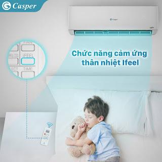 Máy điều hòa Casper có tiết kiệm điện không ?