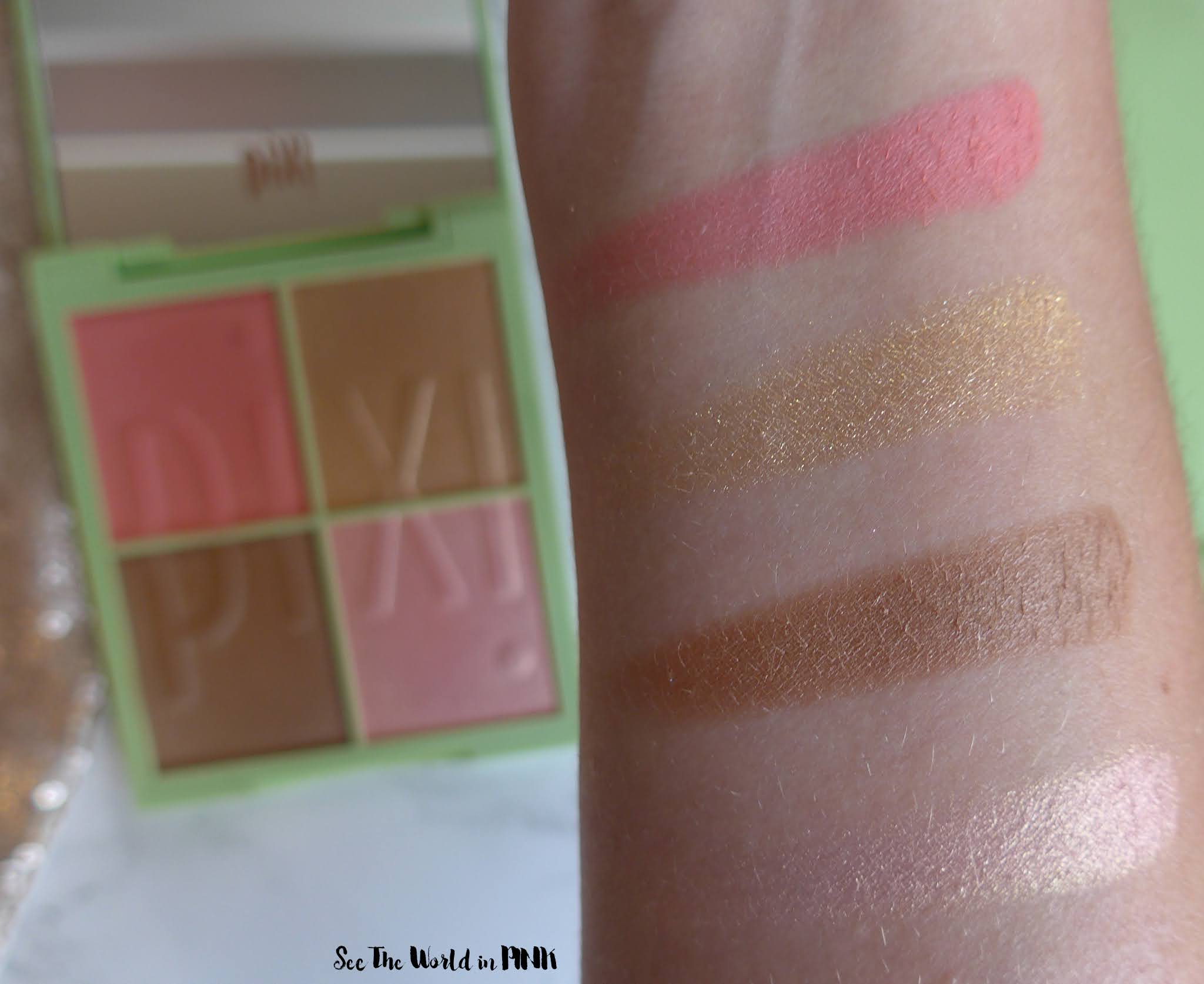 Pixi Beauty Eye Effects Shadow Palettes & Nuance Quartettes - Swatches, Try-ons & Thoughts