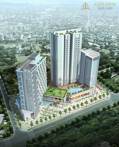 Phối cảnh dự án Golden Square Đà Nẵng