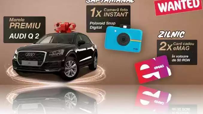 Câștigători concurs ETI WANTED 2020 Audi Q2. Câștigă Vouchere eMag de 50 lei pe etibonus.com