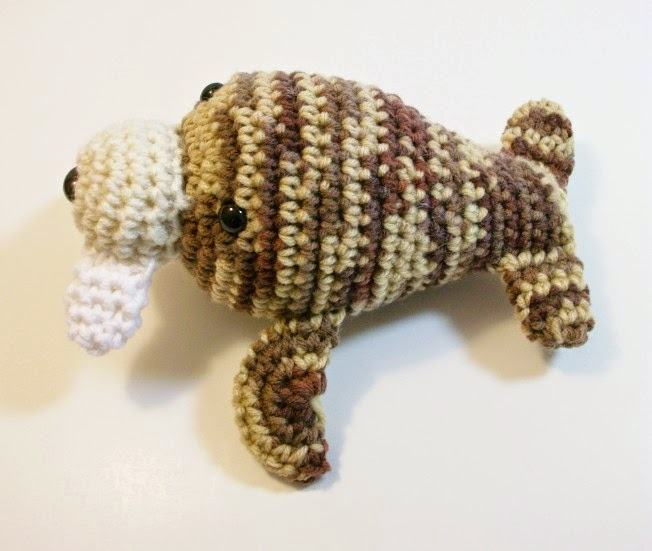 Toy Walrus in Plush Crochet