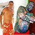 Vídeos: Com 99% do corpo tatuado, recordista corta o nariz e vira o 'Caveira': 'Sempre gostei de ser diferente'. Veja