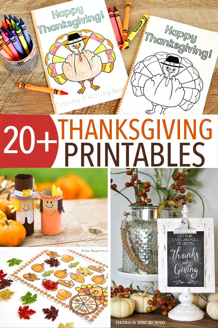 Get everything you need for Thanksgiving with this awesome printable collection! Includes a Thanksgiving planner, Thanksgiving Kids' activities, printable decor and table ideas, and gratitude printables. All the essentials for Thanksgiving in one place!