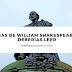 4 Obras de William Shakespeare que deberías leer