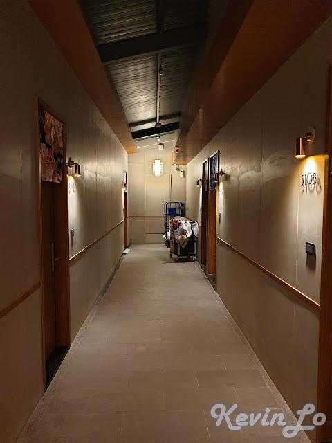 東旅湯宿溫泉飯店-風華漾館走廊