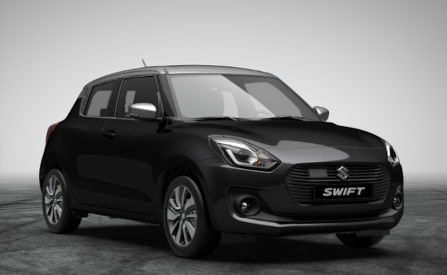 Suzuki Swift (2018) - Couleurs / Colors