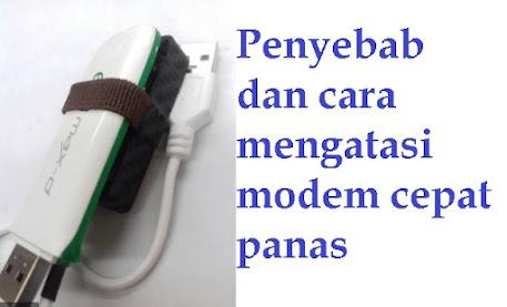 Penyebab USB Modem Wifi Cepat Panas Dan Cara Mengatasinya