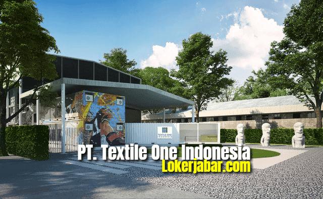 Lowongan Kerja PT Textile One Indonesia Karawang 2021
