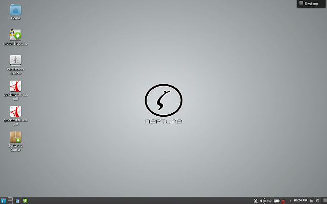 Neptune OS KDE Plasma Desktop - First impression