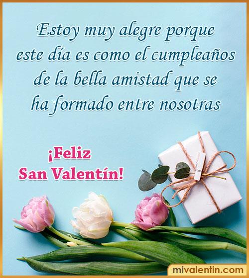 felicitaciones de san valentin amigas-