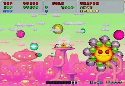 Sega Ages Fantasy Zone Gameplay