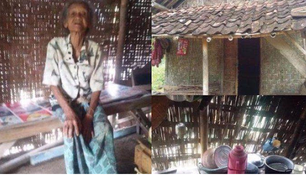 Sering Tak Miliki Beras, Nenek Di Tulungagung Ini Hanya Masak Air Untuk Mengganjal Lapar