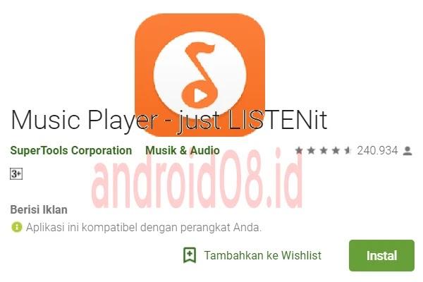 Download Aplikasi LISTENit No Ads Terbaru