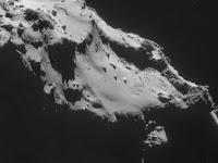 UFO Di Permukaan Komet Rosetta
