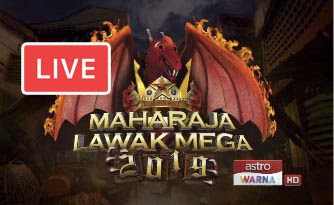 Live Streaming Maharaja Lawak Mega 1.11.2019.