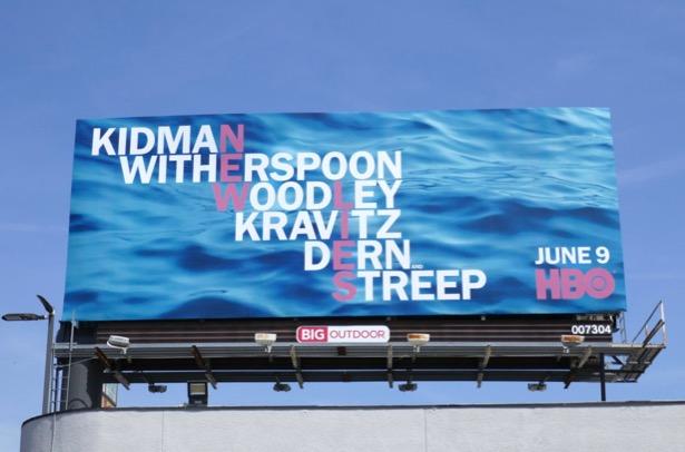 Big Little Lies season 2 teaser billboard