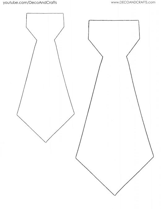 Manualidad en Video: Cajitas de regalo en forma de corbata para ...