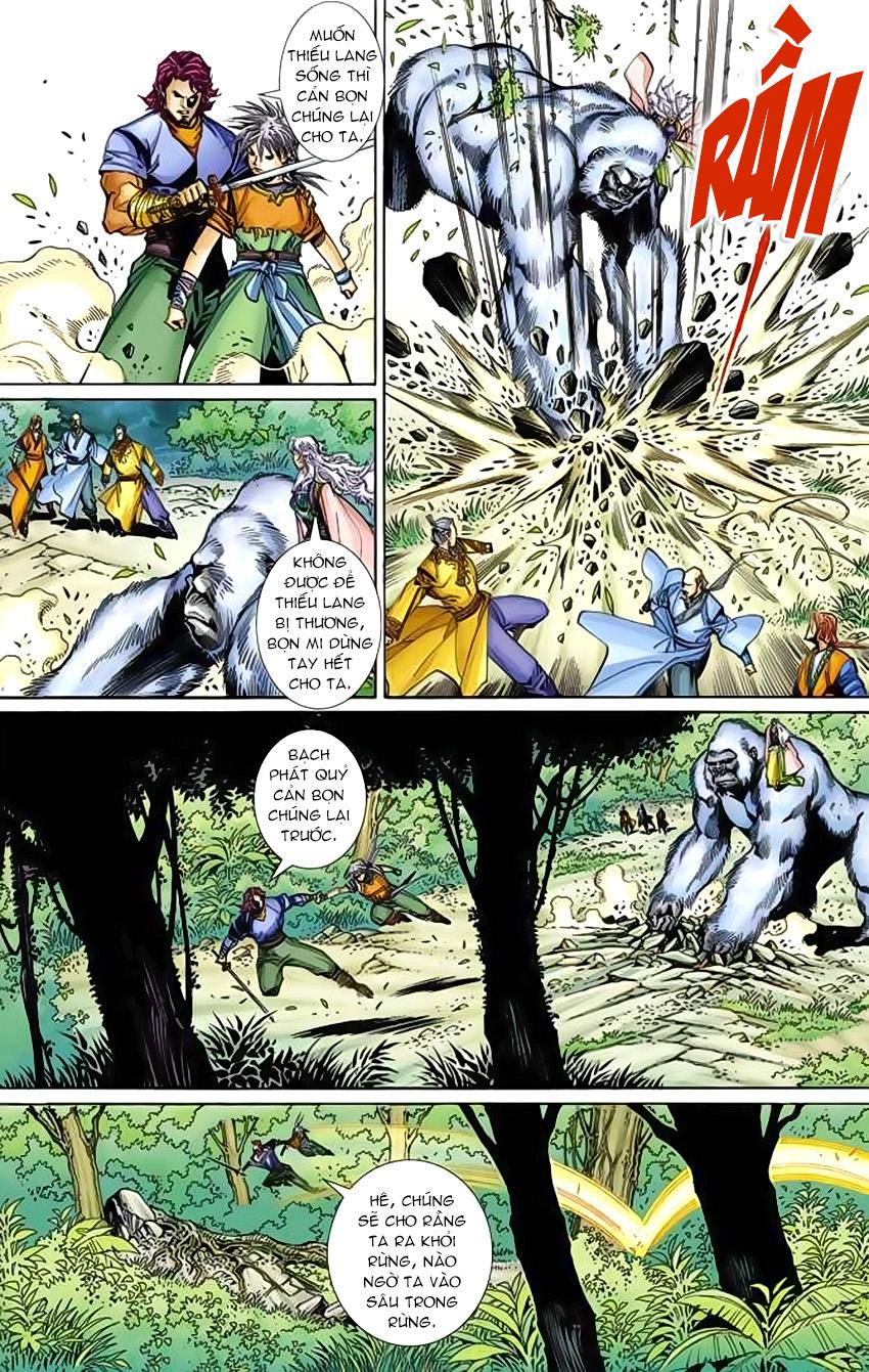 Bạch Phát Quỷ chap 6 - Trang 14