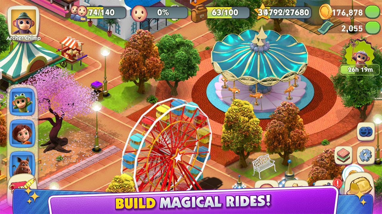 Wonder Park Magic Rides MOD APK - AndroidGamez