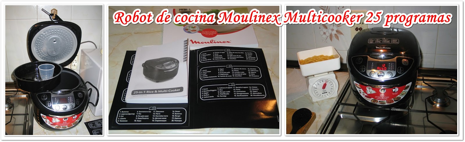 Recetario moulinex maxichef advanced