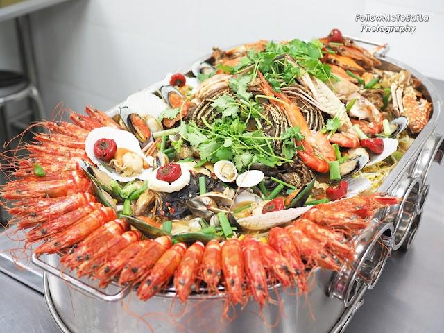 Jumbo Seafood Platter
