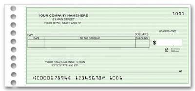 المحاسبة عن الشيكات البنكية  Checks accounting