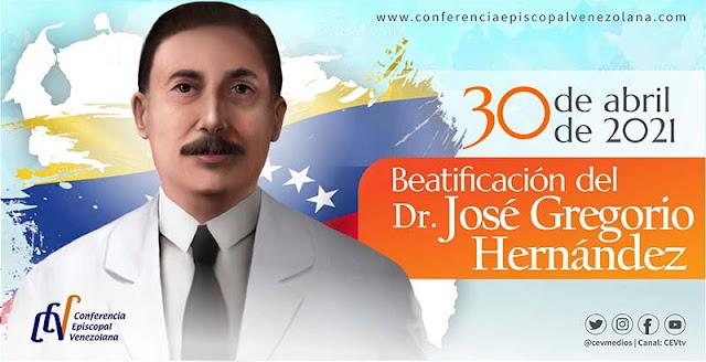 30ABR SERÁ BEATIFICADO JOSÉ GREGORIO HERNÁNDEZ EN EL ESTADIO UNIVERSITARIO