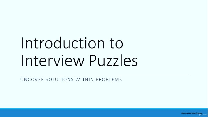 Interview Puzzles for Data Science