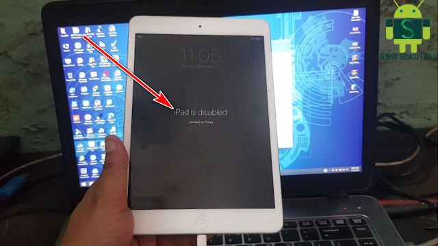 All Apple iPad Fix iPad is Disable