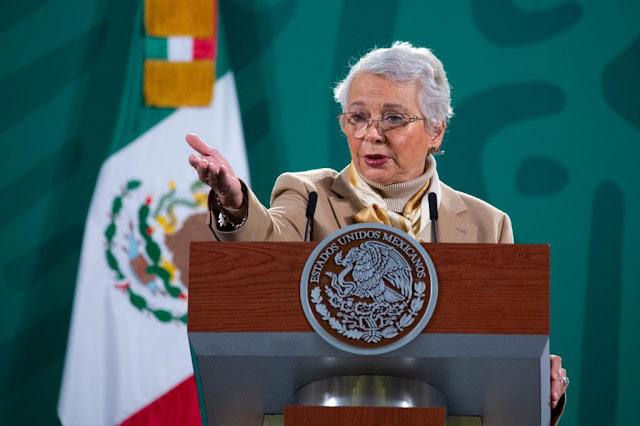 El próximo lunes AMLO podría estar de regreso en las matutinas, afirma Olga Sánchez Cordero