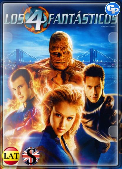 Los 4 Fantásticos (2005) HD 1080P LATINO/INGLES