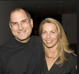 Steve Jobs With his Wife