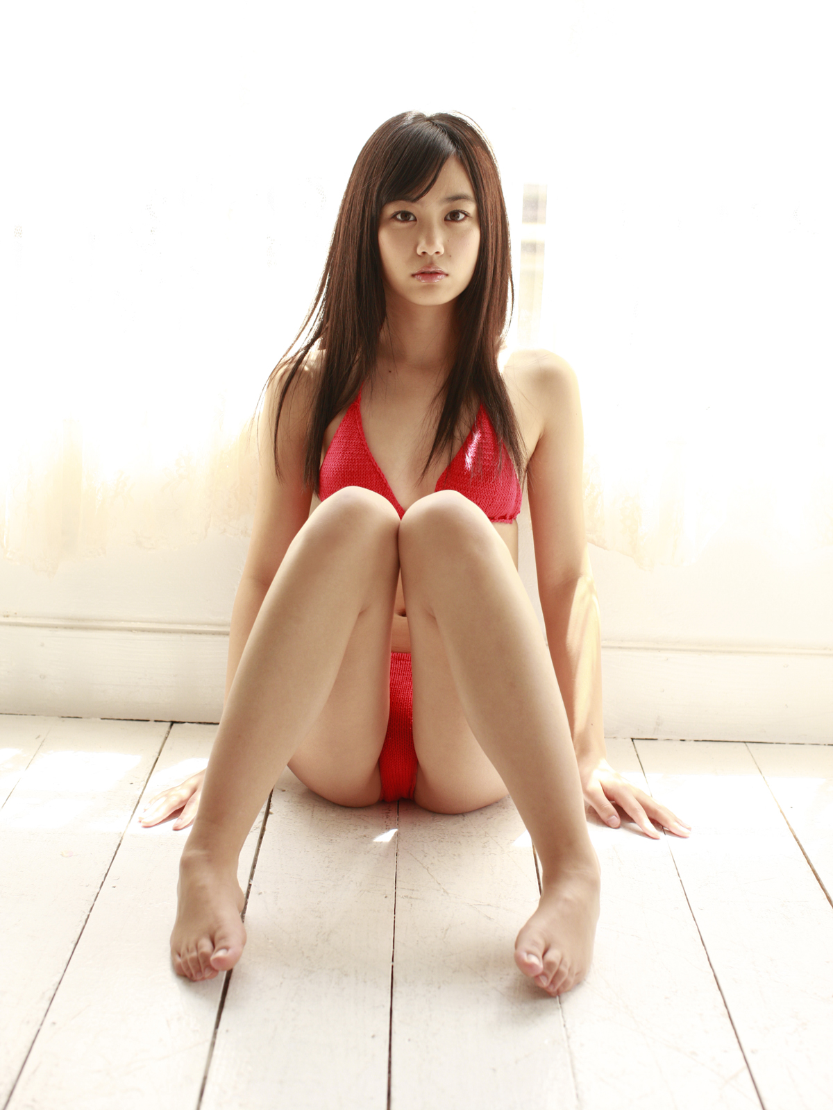 Japan Teen Girl - Yui Ito In Red Hot Bikini Pictures-5221